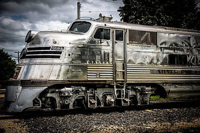 Transportation Digital Art - Train by Super Lovely