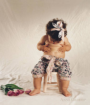 Baby Photograph - Untitled by Anne Geddes