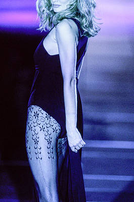 Photograph - Versace Fall 1991 Rtw Show by Guy Marineau