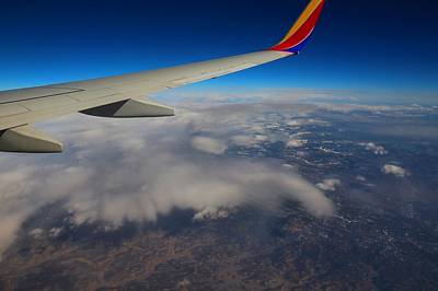Photograph - 39,000 Feet Altitude by Kathryn Meyer