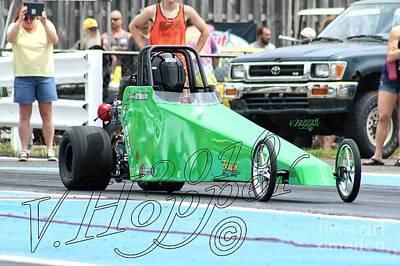 Wall Art - Photograph - 3901 05-29-16 Esta Safety Park Drag Racing by Vicki Hopper