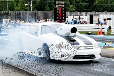 Wall Art - Photograph - 3922 05-29-16 Esta Safety Park Drag Racing by Vicki Hopper
