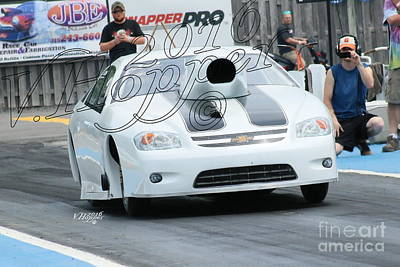 Wall Art - Photograph - 3926 05-29-16 Esta Safety Park Drag Racing by Vicki Hopper