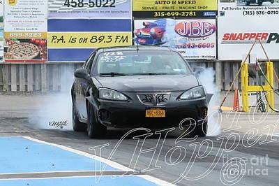 Wall Art - Photograph - 3936 05-29-16 Esta Safety Park Drag Racing by Vicki Hopper