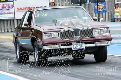 Wall Art - Photograph - 3945 05-29-16 Esta Safety Park Drag Racing by Vicki Hopper