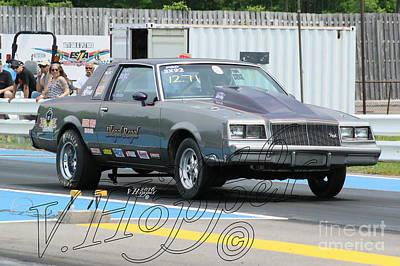Wall Art - Photograph - 3989 05-29-16 Esta Safety Park Drag Racing by Vicki Hopper