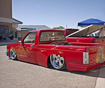 Photograph - 1982 Chevy S10_1a by Walter Herrit