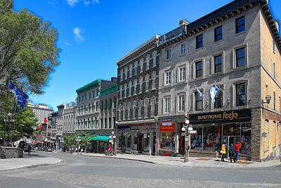 Photograph - Old Quebec by Carlos Diaz