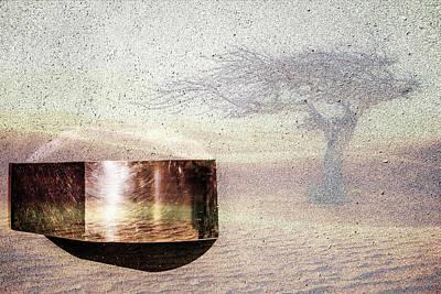 Digital Art - 3d Transformation On Desert Location by Tommytechno Sweden