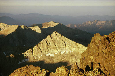 Photograph - 3mm6473 Sunrise From Mt. Goddard by Ed Cooper Photography