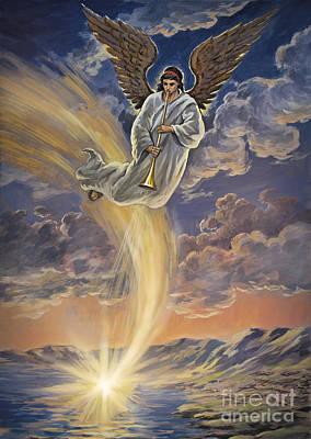 Third Trumpet Angel Art Print