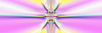 Digital Art - 3x1 Abstract 917 by Rolf Bertram