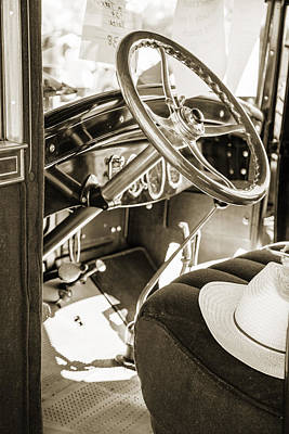Photograph - 1924 Buick Duchess Antique Vintage Photograph Fine Art Prints 114 by M K  Miller
