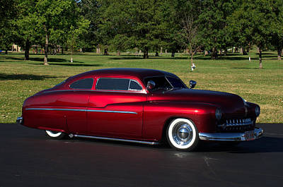 Photograph - 1951 Mercury Low Rider by Tim McCullough