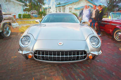 Photograph - 1954 Corvette Nomad by Rich Franco