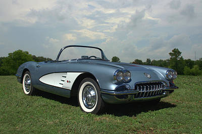 Photograph - 1960 Corvette by Tim McCullough