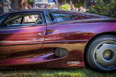 Photograph - 1993 Jaguar Xj 220 Super Car  by Rich Franco