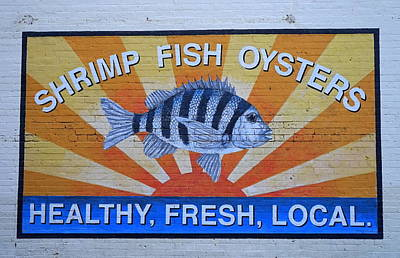 Photograph - Charleston Seafood by Laurie Perry