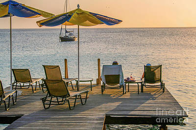 Photograph - A Deck With A View by Patricia Hofmeester