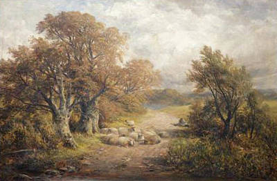 Classic Golf - A Derbyshire water lane by George Turner