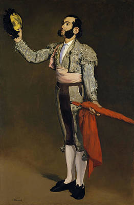 Male Painting - A Matador by Edouard Manet