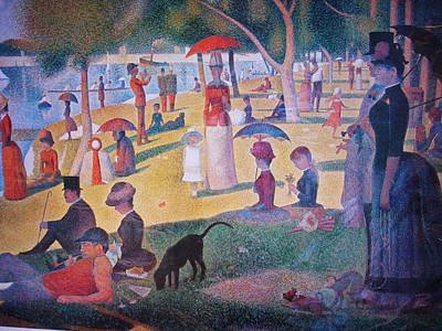 Painting - A Sunday On La Grande Jatte by Georges Seurat