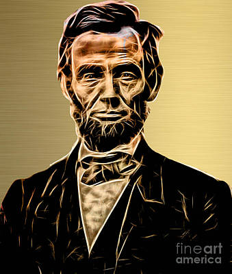 Abraham Lincoln Collection Art Print