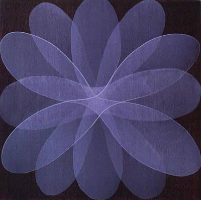 Abstract Flower  Art Print by Jitka Anlaufova