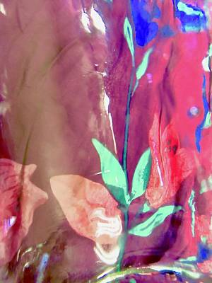Photograph - Abstract Flowers by Stephanie Moore