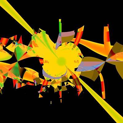 Abstract Fractal Original by Milan Bulatovic