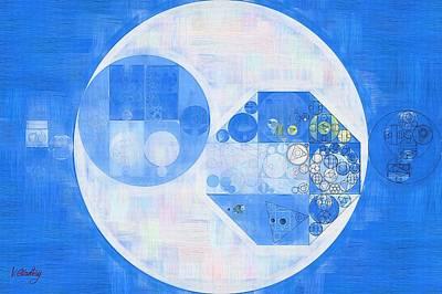 Abstract Creations Digital Art - Abstract Painting - Denim by Vitaliy Gladkiy