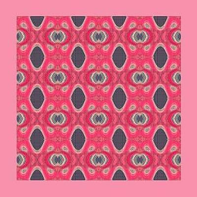 Mohammad Safavi Naini Painting - Abstract Pattern by Mohammad Safavi naini