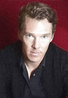 Actor Benedict Cumberbatch  Art Print by Best Actors