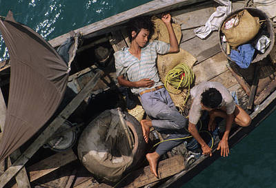 Photograph - Adrift On The China Sea by Carl Purcell