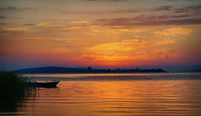 Photograph - After Sunset by Lilia D