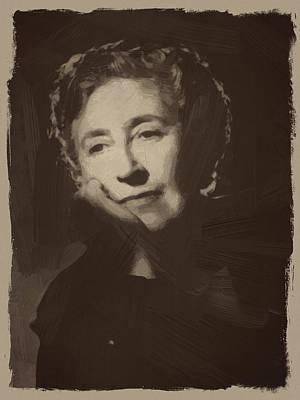 Agatha Christie 1 Art Print