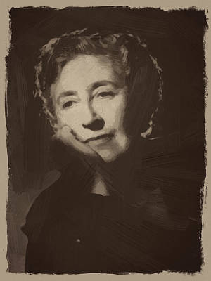 Quote Digital Art - Agatha Christie 1 by Afterdarkness