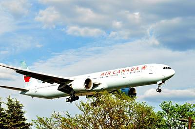 Photograph - air Canada  by Puzzles Shum
