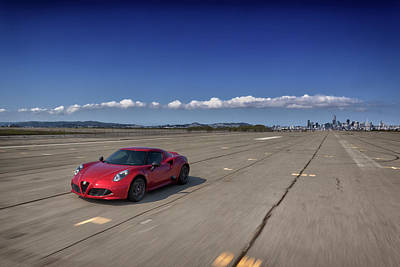 Photograph - #alfaromeo #4c #print by ItzKirb Photography