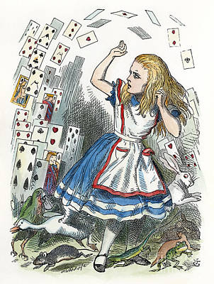 Painting - Alice In Wonderland  by Granger