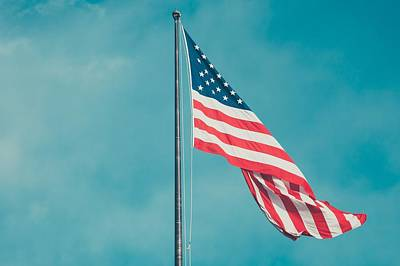 American Flag Art Print by FL collection
