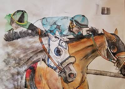Painting - An American Pharoah Born Album by Debbi Saccomanno Chan