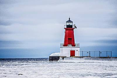 Photograph - Ann Arbor Lighthouse In Michigan by Alex Grichenko