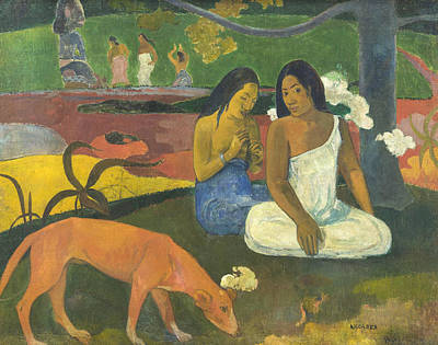 Painting - Arearea  by Paul Gauguin