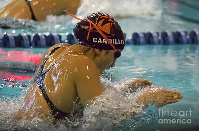 Photograph - Arena Pro Swim Charlotte by Kevin McCarthy