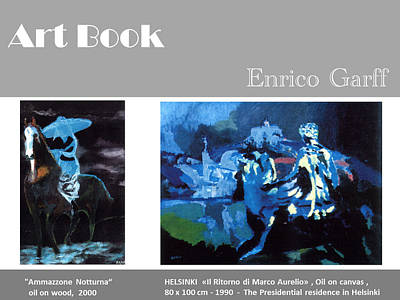 Painting - Art Book by Enrico Garff