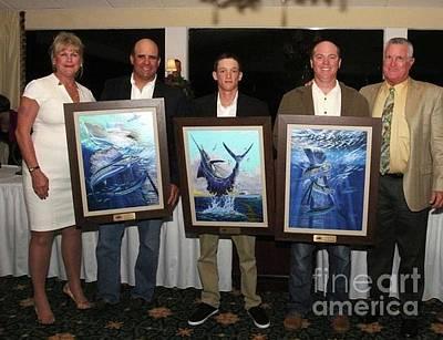 Dolphin Digital Art - Art Trophies by Carey Chen