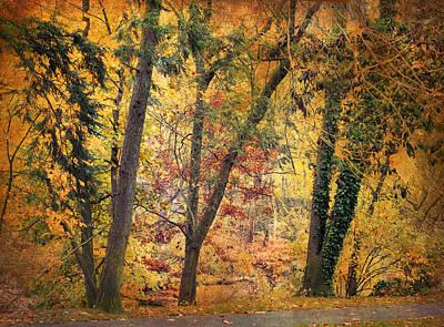 Autumn Canvas Art Print by Jessica Jenney