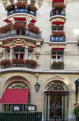 Digital Art - Avenue Montaigne Paris by Carol Ailles