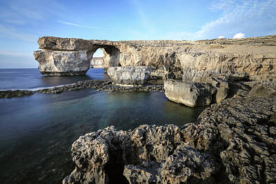 Malta Photograph - Azure Window - Gozo by Joana Kruse